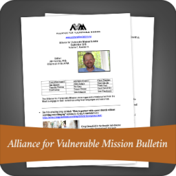Alliance For Vulnerable Mission Bulletin